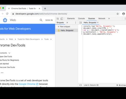 ابزارهای توسعه برنامه نویسی در جاوا اسکریپت